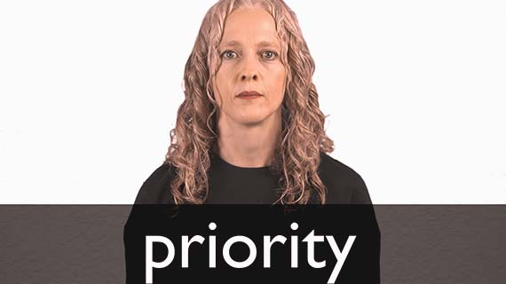 She Is Giving You Priority