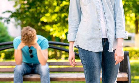 why do breakups hit guys later